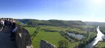 Le château de Beynac visité par Brandon Storie's