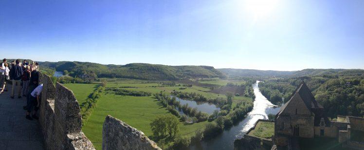 The Château de Beynac seen by Brandon Storie's